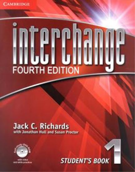 Picture of INTERCHANGE 1 STUDENTS BOOK WITH DVD-ROM - FOURTH EDITION