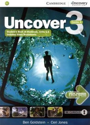 Imagem de UNCOVER 3A COMBO STUDENT´S BOOK WITH ONLINE WORKBOOK AND ONLINE PRACTICE - 1ST ED