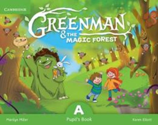 Picture of GREENMAN AND THE MAGIC FOREST A PUPILS BOOK WITH STICKERS AND POP OUTS