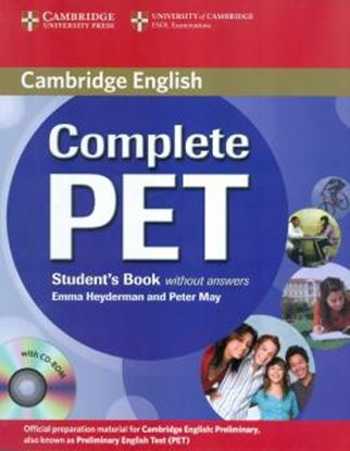Imagem de COMPLETE PET SB WITHOUT ANSWER WITH CD-ROM