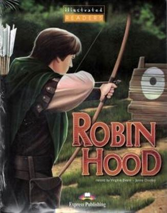 Imagem de ROBIN HOOD - ILLUSTRATED READER - STUDENT´S PACK 2 - WITH AUDIO CD AND DVD-ROM