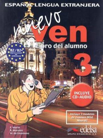 Picture of NUEVO VEN 3 - LIBRO DEL ALUMNO + CD AUDIO