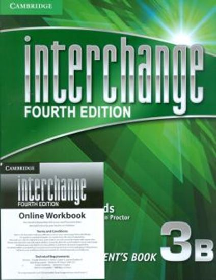 Picture of INTERCHANGE 3B STUDENTS BOOK WITH DVD ROM ONLINE WORKBOOK - FOURTH EDITION