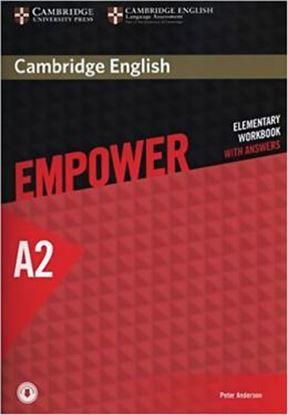 Imagem de CAMBRIDGE ENGLISH EMPOWER ELEMENTARY WORKBOOK WITH ANSWERS - 1ST ED