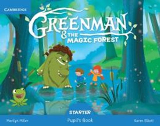 Picture of GREENMAN AND THE MAGIC FOREST STARTER PUPILS BOOK
